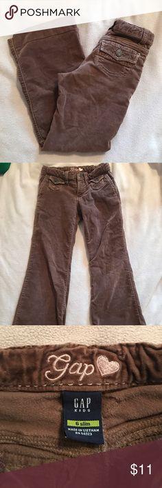 Gap kids pants Super cute flare leg pants, velvety feel- sz 6 slim GAP Bottoms Casual