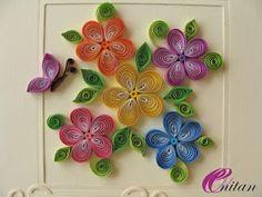 Witam !! Dziś prosta karteczka, z bukietem kwiatków. Może znaleźć zastosowanie na imieniny lub urodziny. Do zwinięcia kwiatuszków w...