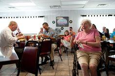 A burger in good company at the Kozy Korner in Oak Harbor, Ohio