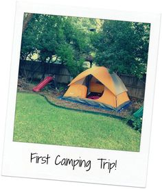 Good new blog about positive parenting.  Skip the backpacks, stove, and hiking... All you need for a good camping  adventure is a tent!