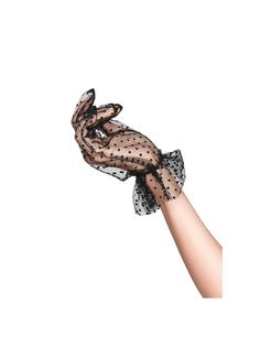 gloves Alluring, translucent gloves of dotted tulle with ruffle trim. One pair of Dotted Tulle Gloves Fashion Art, Vintage Fashion, Fashion Outfits, Fashion Design, Women Accessories, Fashion Accessories, Gloves Fashion, Vintage Gloves, Wedding Gloves