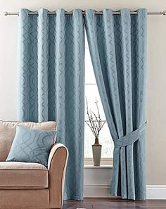 Kendal Eyelet Curtains | Home Essentials