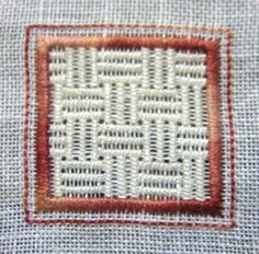 15Chessboard Filling Stitch