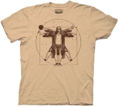 The-Big-Lebowski-Vitruvian-Movie-Adult-X-Large-T-Shirt
