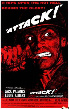 Attack - 1956. #film movie #cinema #posters