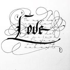 My friend's art :) Charlas inconclusas #mbcaligrafia #handmadeletters #calligraphy