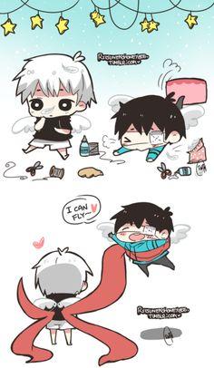 Kaneki Ken | Tokyo Ghoul | So cute