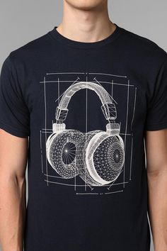 Arka Headphones Blueprint Tee