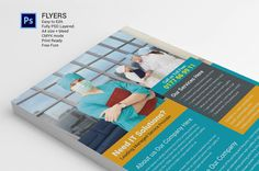 Flyers template by Graphicalark on Creative Market