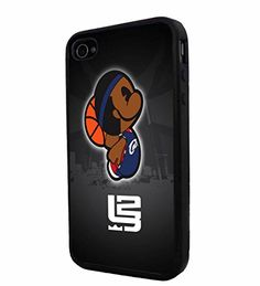 NBA King Lebron James Cartoon , Cool iPhone 4 / 4s Smartphone Case Cover Collector iphone TPU Rubber Case Black Phoneaholic http://www.amazon.com/dp/B00UC3B7UM/ref=cm_sw_r_pi_dp_pm9lvb17EJ74Q