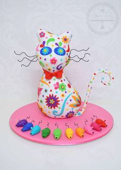cat & mouse cake