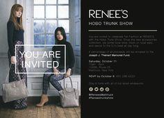 RENEE'S Hobo Tunk Show! #reneestrunkshow #hobobags #handbags #fashion #northfork #trunkshow #accessorize