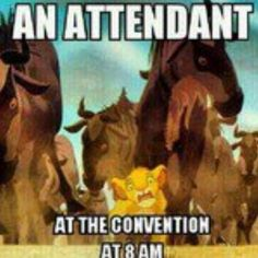 @Taylor Espinoza This reminds me of you at the 3 day when you were an attendant and just got to walk pass everyone. lolxD