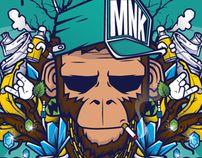 Mnk Crew : illustrator, Graphic Design, Digital Art@France