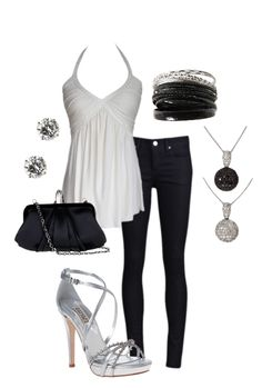 Romantic night out outfit