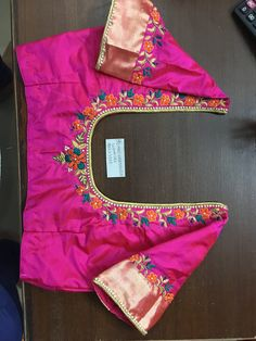 Pattu Saree Blouse Designs, Blouse Designs Silk, Bridal Blouse Designs, Maggam Work Designs, Simple Blouse Designs, Maggam Works, Work Blouse, Blouses, Indian Wear