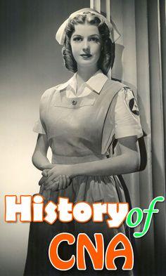 The History of CNAs [ #cna ] Nursing School Notes, Nursing Jobs, Cna Nurse, Nurse Life, Registered Nurse Jobs, Nursing School Requirements, Nursing Fields, Lpn Classes, Nursing School Prerequisites