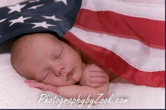 Military Army Navy Air Force Newborn Photography Flag American