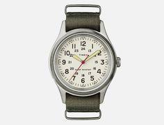 """J. Crew x Timex® """"Vintage Field Army Watch"""""""