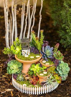 Miniaturas – 24 ideas de jardines en miniatura mágicos - España - ChatRealty