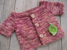 """for my friend's """"green"""" baby shower. the yarn is from a local farm/spinner."""