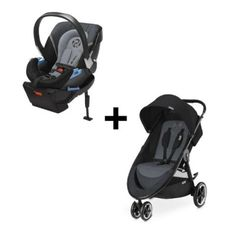 -Cybex Agis & Aton 2 Travel System in Moon Dust #Kids #Toddler #gear #Designers #Boy #Girl #Games #Toys #Diapering #Accessories #AtHome #Bath #Bedding #Strollers #Brands #Decor #Play#Beds