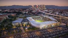 LA's Getting a New Soccer Stadium in Exposition Park - Curbed LAclockmenumore-arrownoyes : It's really happening, folks