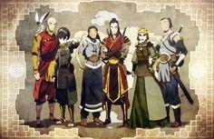 Avatar Aang's Friends