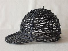 Handmade Sculpture 'Baseball Hat'  Minimal Art  Sport by ARALICA