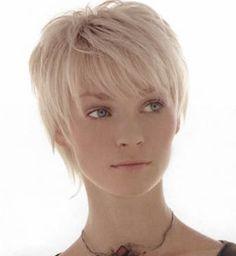 short hair cut, I really, really like this!!!