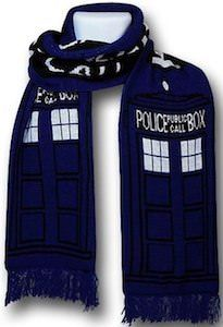 doctor who tardis scarf visual kei christmas gift ideas scarves knitting closet