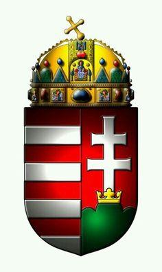 hungarian coat of arms Hungarian Tattoo, Hungarian Flag, Hungary History, Splash Images, Austria, Historical Women, Historical Photos, Asian History, British History