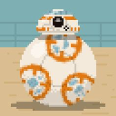 New trending GIF on Giphy. star wars pixel pixelart droid bb8. Follow Me CooliPhone6Case on Twitter Facebook Google Instagram LinkedIn Blogger Tumblr Youtube