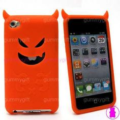 DEVIL MONSTER SILICONE GEL CASE COVER SLEEVE FOR APPLE IPOD TOUCH 4TH GENERATION | eBay