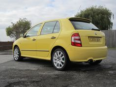 MK1 Skoda Fabia vRS Skoda Fabia, Mk1, Cars, Yellow, My Love, Products, My Boo, Automobile, Beauty Products