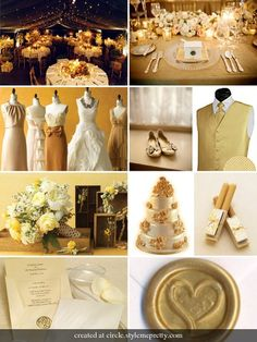 Brown And Cream Wedding Ideas