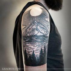 Like this idea for my leg tat