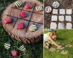 Para jugar con los niños manteniendo el contacto con la naturaleza