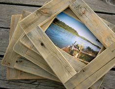 Custom barn wood photo frame.