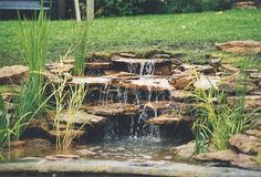 for small backyard wood fence design ideas backyard landscaping ideas Ponds Backyard, Backyard Landscaping, Koi Ponds, Landscaping Ideas, Backyard Ideas, Outdoor Water Features, Water Features In The Garden, Turtle Homes, Garden Inspiration
