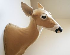 this is the kind of deer head i want in my house