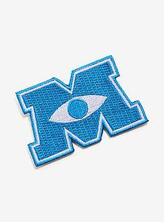 Disney Pixar Monsters Inc. Iron-On Patch,