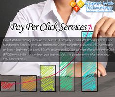 Expert Web Technology is one of the best PPC Company in India. We Provide Pay Per Click Management services gives you maximum ROI for your growing business.  PPC advertising on Search Engine to Get Leads  & Traffic to Generate ROI. Get our most affordable Pay Per Click (PPC) Services India that can boost your business. Visit this page for entire informaion about PPC Services India.
