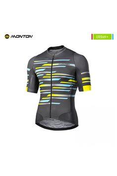 de34ae9a0 Buy Men s Short Sleeve Cycling Jersey Gray Quick Dry