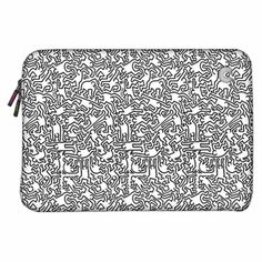 iPad covers and laptop cases from Keith Haring. Sweet.