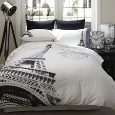 Home Republic Bedroom Quilt Covers & Coverlets online from Adairs Paris Room Decor, Paris Rooms, Paris Bedroom, Paris Theme, Dream Bedroom, Paris Bedding, Paris Room Themes, Design Furniture, Plywood Furniture