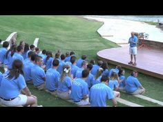 """How to teach camp songs! The whole """"ready - ready"""" call and response thing is great for getting everyone's attention and re-focusing them. Plus it's a fun and simple song you can add to your repertoire! Camping Games, Camping Crafts, Camping Life, Silly Songs, Fun Songs, Camp Skits, Girl Scout Songs, Youth Bible Study, Campfire Songs"""