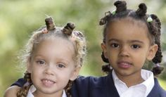 these twins remind me of my grandaughters