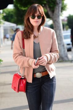 Dakota Johnson out and about in LA
