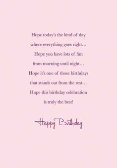 190 Free Birthday Verses For Cards Greetings and Poems For Friends Birthday Wishes For A Friend Messages, Birthday Verses For Cards, Happy Birthday Quotes For Friends, Happy Birthday Wishes Cards, Birthday Card Sayings, Birthday Greetings, Birthday Poems, Free Birthday, Happy Wishes